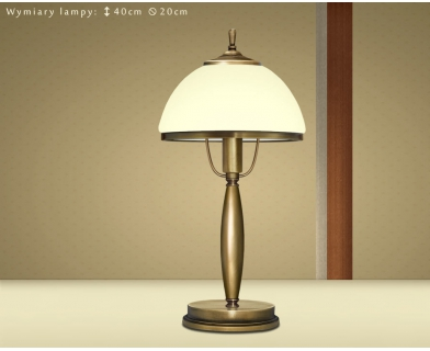 Klasyczna lampa biurkowa CR-B1GE