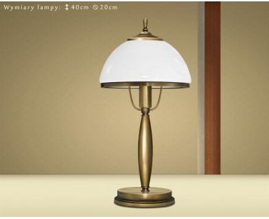 Klasyczna lampa stołowa CR-B1G