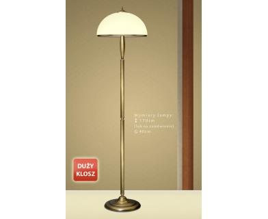 Lampa podłogowa z mosiądzu CR-P1DE