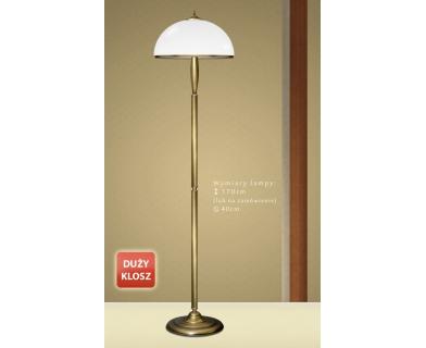 Klasyczna lampa podłogowa CR-P1D