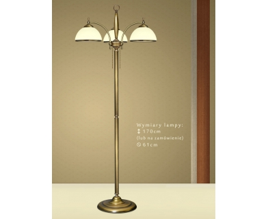 Klasyczna lampa podłogowa CR-P3E