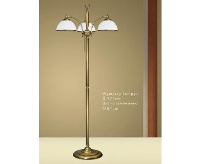 Mosiężna lampa podłogowa CR-P3