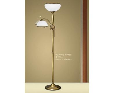 Lampa podłogowa z mosiądzu CR-P2