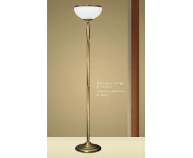 Mosiężna lampa podłogowa CR-P1A