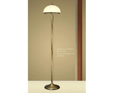 Lampa podłogowa z mosiądzu CR-P1E