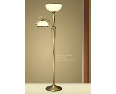 Lampa podłogowa z mosiądzu CR-P2E