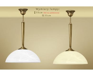 Lampa klasyczna z mosiądzu Y-S1