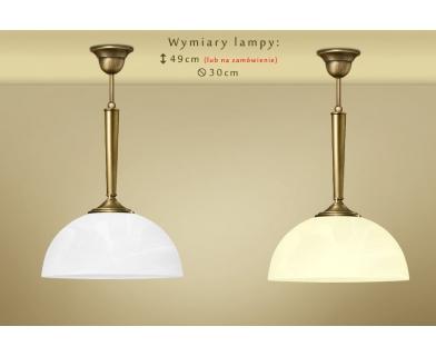 Lampa klasyczna z mosiądzu Y-S1B