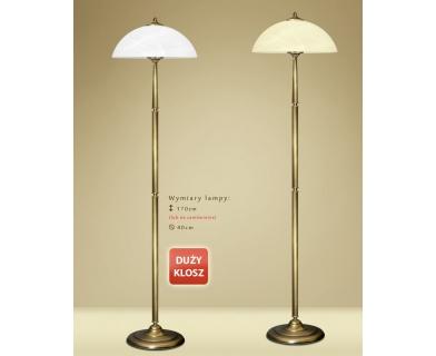 Lampa podłogowa mosiężna Y-P1D
