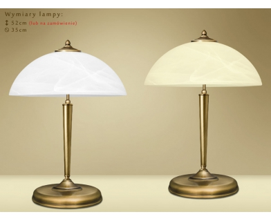 Mosiężna lampa nocna Y-B2