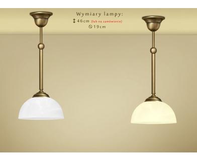 Lampa klasyczna z mosiądzu Y-S1M19