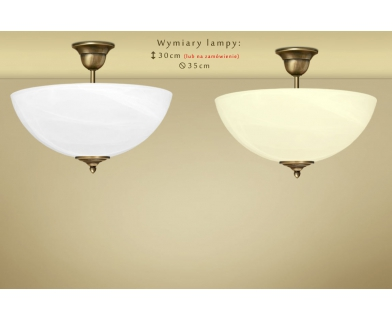 Lampa klasyczna z mosiądzu Y-S1AK