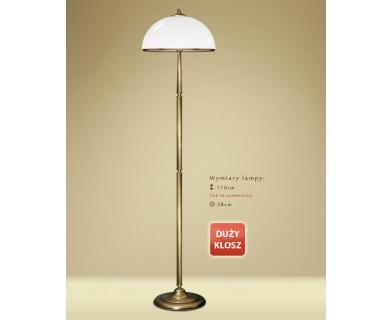 Lampa podłogowa mosiężna YR-P1D
