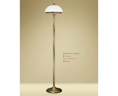 Lampa podłogowa z mosiądzu YR-P1