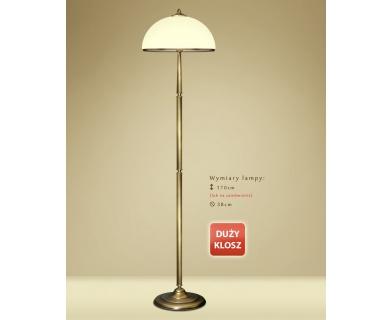 Lampa podłogowa mosiężna YR-P1DE
