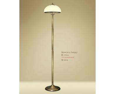 Lampa podłogowa z mosiądzu YR-P1E
