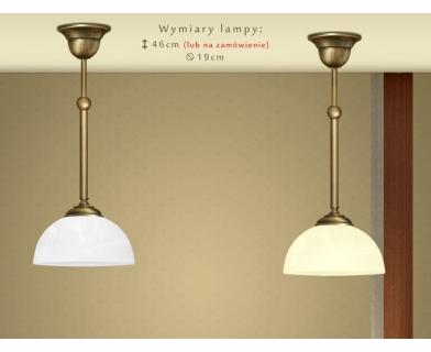 Lampa sufitowa z mosiądzu C-S1C