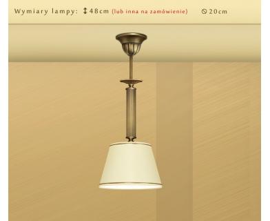 Lampa sufitowa z mosiądzu L-S1B20