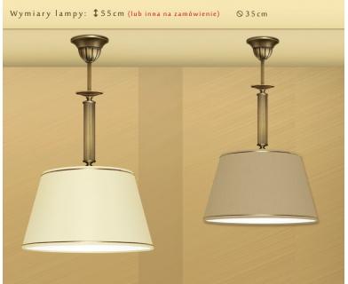 Lampa sufitowa z mosiądzu L-S1B