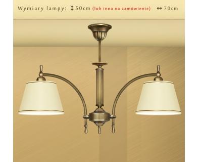Klasyczna lampa z abażurami L-S2N