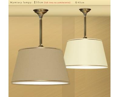 Lampa sufitowa z mosiądzu LA-S1