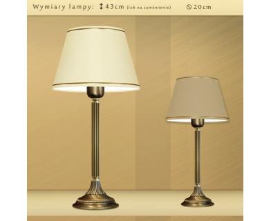 Lampa biurkowa mosiężna LA-B1