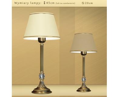 Lampa stołowa z abażurem LA-B3