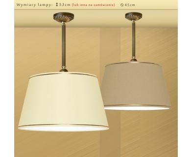 Lampa mosiężna z abażurem LB-S1