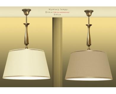 Lampa wisząca z abażurem PA-S1