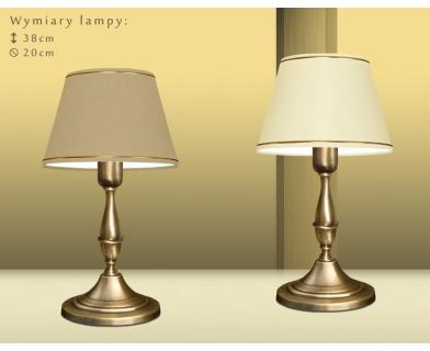 Lampa biurkowa z abażurem PA-B1