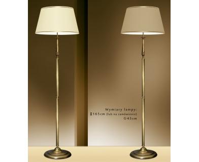 Lampa podłogowa z mosiądzu NA-P1
