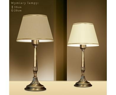 Lampa nocna z abażurem NA-B1