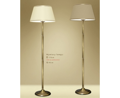 Lampa podłogowa z abażurem YA-P1