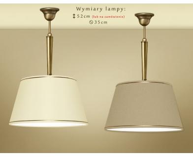Lampa sufitowa z mosiądzu YA-S1C35
