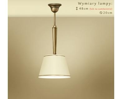 Lampa wisząca z małym abażurem YA-S1C20