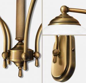 Lampy klasyczne wykonane z mosiądzu Seria V