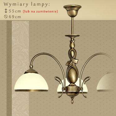 Ogromny Klasyczne lampy mosiężne | MN Interiors Sklep: lampy sufitowe i VQ65