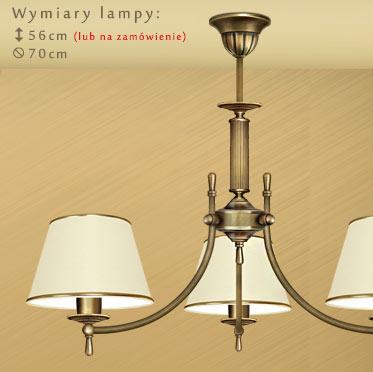 Nietypowy Okaz Klasyczne lampy mosiężne | MN Interiors Sklep: lampy sufitowe i MR96