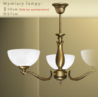 Genialny Klasyczne lampy mosiężne | MN Interiors Sklep: lampy sufitowe i FW44