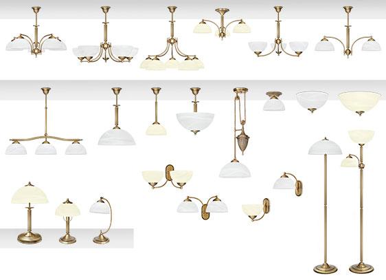 Tylko na zewnątrz Klasyczne lampy mosiężne | MN Interiors Sklep: lampy sufitowe i LT27