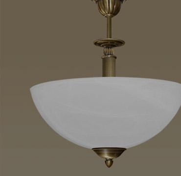 Masywnie Klasyczne lampy mosiężne | MN Interiors Sklep: lampy sufitowe i GK97