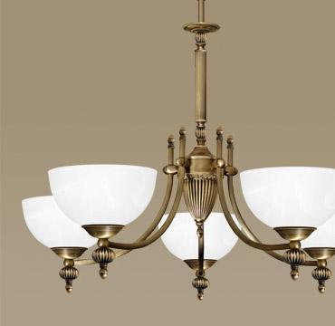 Nowość Klasyczne lampy mosiężne | MN Interiors Sklep: lampy sufitowe i LD43